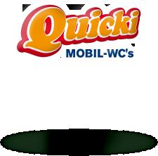 Logo: Quicki Mobil-WC´s